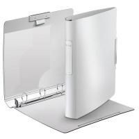 Segregator ringowy Leitz Style, 4DR/30mm Softclick, biały, Segregatory, Archiwizacja dokumentów