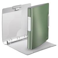 Segregator ringowy Leitz Style, 4DR/30mm Softclick, seledynowy, Segregatory, Archiwizacja dokumentów