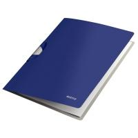 Skoroszyt z klipsem Leitz Style ColorClip Professional, niebieski, Skoroszyty, Archiwizacja dokumentów
