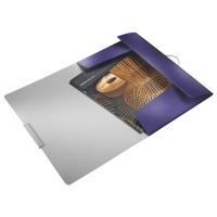 Teczka z gumką Leitz Style, 15 mm, niebieski, Teczki, Archiwizacja dokumentów