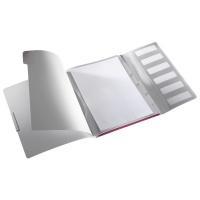 Teczka segregująca 6 przekładek Leitz Style, ciemnoczerwony, Teczki, Archiwizacja dokumentów