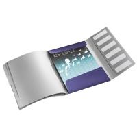Teczka segregująca 6 przekładek Leitz Style, niebieski, Teczki, Archiwizacja dokumentów