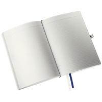Notatnik w miękkiej oprawie Leitz Style A5, w kratkę, niebieski, Notatniki, Zeszyty i bloki
