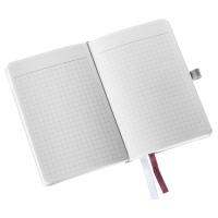 Notatnik w miękkiej oprawie Leitz Style A6, w kratkę, ciemnoczerwony, Notatniki, Zeszyty i bloki