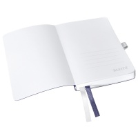 Notatnik w miękkiej oprawie Leitz Style A6, w kratkę, niebieski, Notatniki, Zeszyty i bloki