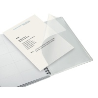 Kołonotatnik Get Organized Executive A4 PP, w kratkę, Kołonotatniki, Zeszyty i bloki