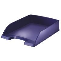 Półka na dokumenty Leitz Style, niebieski, Szufladki na biurko, Drobne akcesoria biurowe