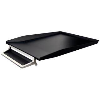 Półka na dokumenty Leitz Style z miejscem na długopis, czarny, Szufladki na biurko, Drobne akcesoria biurowe