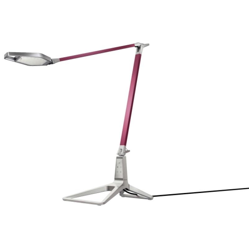 Lampka na biurko Leitz Style Smart LED, ciemnoczerwona, Lampki, Urządzenia i maszyny biurowe
