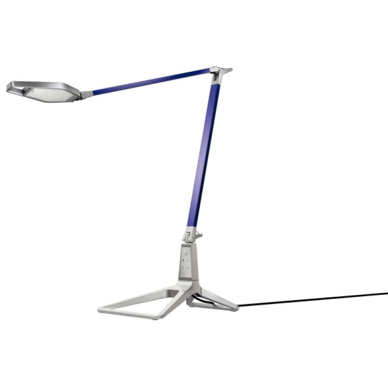 Lampka na biurko Leitz Style Smart LED, niebieska, Lampki, Urządzenia i maszyny biurowe