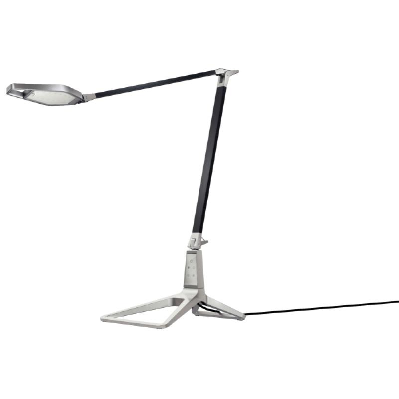 Lampka na biurko Leitz Style Smart LED, czarna, Lampki, Urządzenia i maszyny biurowe