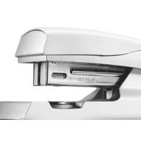 Zszywacz średni metalowy Leitz Style, 10 lat gwarancji, 30 kartek, biały, Zszywacze, Drobne akcesoria biurowe
