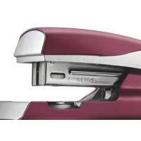 Zszywacz średni metalowy Leitz Style, 10 lat gwarancji, 30 kartek, ciemnoczerwony, Zszywacze, Drobne akcesoria biurowe