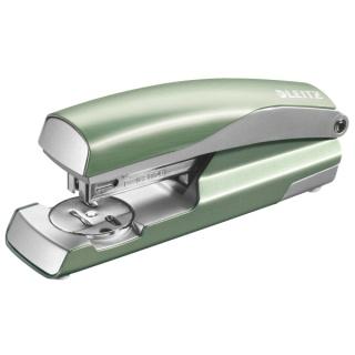 Zszywacz średni metalowy Leitz Style, 10 lat gwarancji, 30 kartek, seledynowy, Zszywacze, Drobne akcesoria biurowe