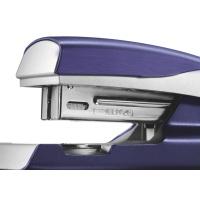 Zszywacz średni metalowy Leitz Style, 10 lat gwarancji, 30 kartek, niebieski, Zszywacze, Drobne akcesoria biurowe