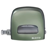 Dziurkacz duży metalowy Leitz Style, 10 lat gwarancji, 30 kartek, seledynowy, Dziurkacze, Drobne akcesoria biurowe