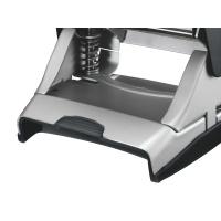 Dziurkacz duży metalowy Leitz Style, 10 lat gwarancji, 30 kartek, czarny, Dziurkacze, Drobne akcesoria biurowe