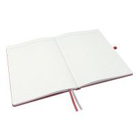 Notatnik Leitz Complete A4, w linię, czerwony, Notatniki, Zeszyty i bloki