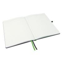 Notatnik Leitz Complete A4, w linię, czarny, Notatniki, Zeszyty i bloki