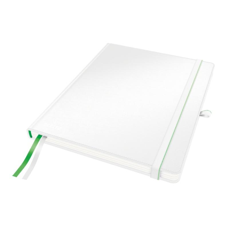 Notatnik Leitz Complete w rozmiarze iPad, w kratkę, biały, Notatniki, Zeszyty i bloki
