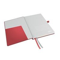 Notatnik Leitz Complete A5, w linię, czerwony, Notatniki, Zeszyty i bloki