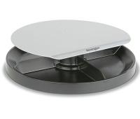Podstawa pod monitor KENSINGTON SmartFit™ Spin Station, obrotowa, srebrno-czarny, Ergonomia, Akcesoria komputerowe