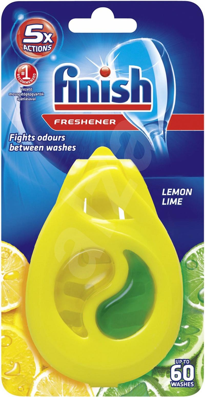 Odświeżacz do zmywarki FINISH, cytryna i limonka, 8,5g, Odświeżacze i dozowniki, Artykuły higieniczne i dozowniki
