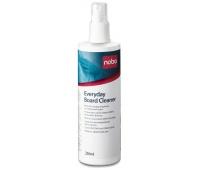 Spray do tablic suchościeralnych NOBO, do codziennego czyszczenia, 250ml, Bloki, magnesy, gąbki, spraye do tablic, Prezentacja