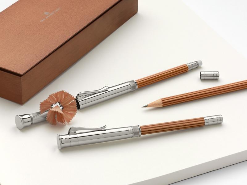Ołówek Perfect Sterling Silver Brown, Ołówki, Artykuły do pisania i korygowania