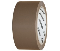 Packing tape, DONAU Hot-Melt, 48 mm, 66 m, 50micr, brown