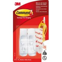 Haczyki wielokrotnego użytku COMMAND™ (17001 PL), średnie, Haczyki, Prezentacja