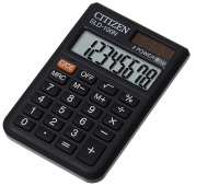 Pocket calculator, CITIZEN SLD-100N, 8-digit, 90x60mm, black