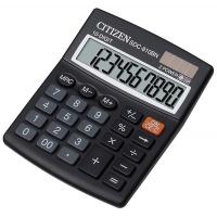 Kalkulator biurowy CITIZEN SDC-810BN, 10-cyfrowy, 124x102mm, czarny, Kalkulatory, Urządzenia i maszyny biurowe