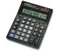 Kalkulator biurowy CITIZEN SDC-554S, 14-cyfrowy,199x153mm, czarny, Kalkulatory, Urządzenia i maszyny biurowe