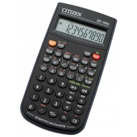 Kalkulator naukowy CITIZEN SR-135N, 10-cyfrowy, 154x84mm, etui, czarny