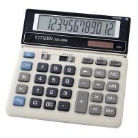 Kalkulator biurowy CITIZEN SDC-868L, 12-cyfrowy, 154x152mm, czarno-biały, Kalkulatory, Urządzenia i maszyny biurowe