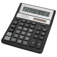 Kalkulator biurowy CITIZEN SDC-888XBK, 12-cyfrowy, 203x158mm, czarny, Kalkulatory, Urządzenia i maszyny biurowe