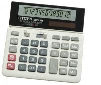 Kalkulator biurowy CITIZEN SDC-368, 12-cyfrowy, 152x152mm, czarno-biały, Kalkulatory, Urządzenia i maszyny biurowe