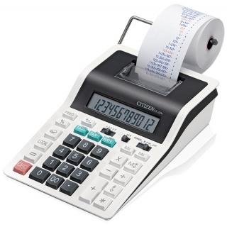 Kalkulator drukujący CITIZEN CX-32N, 12-cyfrowy, 226x147mm, czarno-biały, Kalkulatory, Urządzenia i maszyny biurowe
