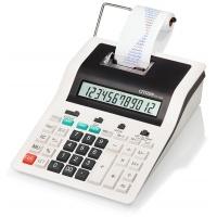 Kalkulator drukujący CITIZEN CX-123N, 12-cyfrowy, 267x202mm, czarno-biały, Kalkulatory, Urządzenia i maszyny biurowe