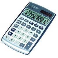 Kalkulator biurowy CITIZEN CPC-112 WB, 12-cyfrowy, 120x72mm, srebrny