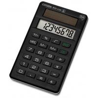 Kalkulator biurowy CITIZEN ECC-110, 8-cyfrowy, 118x70mm, czarny, Kalkulatory, Urządzenia i maszyny biurowe