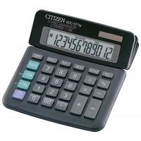 Kalkulator biurowy CITIZEN SDC-577III, 12-cyfrowy, 164x150mm, czarny