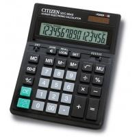 Kalkulator biurowy CITIZEN SDC-664S, 16-cyfrowy, 199x153mm, czarny, Kalkulatory, Urządzenia i maszyny biurowe