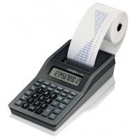 Kalkulator drukujący CITIZEN CX-77BNES, 12-cyfrowy, 200x102mm, czarno-antracytowy, Kalkulatory, Urządzenia i maszyny biurowe