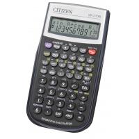 Kalkulator naukowy CITIZEN SR-270N, 12-cyfrowy, 154x80mm, etui, czarny
