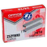 Zszywki OFFICE PRODUCTS, 24/10, 1000szt., Zszywki, Drobne akcesoria biurowe