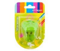 Temperówka KEYROAD, plastikowa, podwójna, blister, mix kolorów, Temperówki, Artykuły do pisania i korygowania