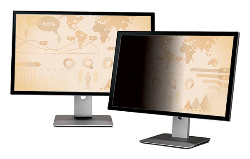 """Bezramkowy filtr prywatyzujący 3M™ (PF24.0W), do monitorów, 16:10, 24"""", czarny, Filtry, Akcesoria komputerowe"""