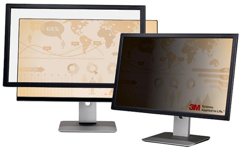 """Ramkowy filtr prywatyzujący 3M™ (PF324W), do monitorów, 16:10, 24"""", czarny, Filtry, Akcesoria komputerowe"""